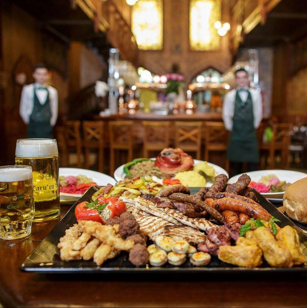 """The """"Caru' cu bere"""" Restaurant Bucharest"""