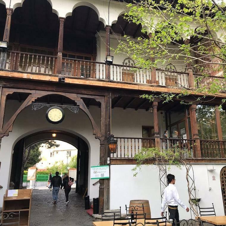 The Hanu' lui Manuc Restaurant Bucharest
