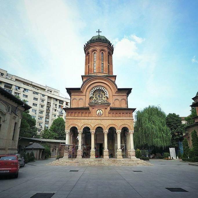 Antim Monastery Bucharest