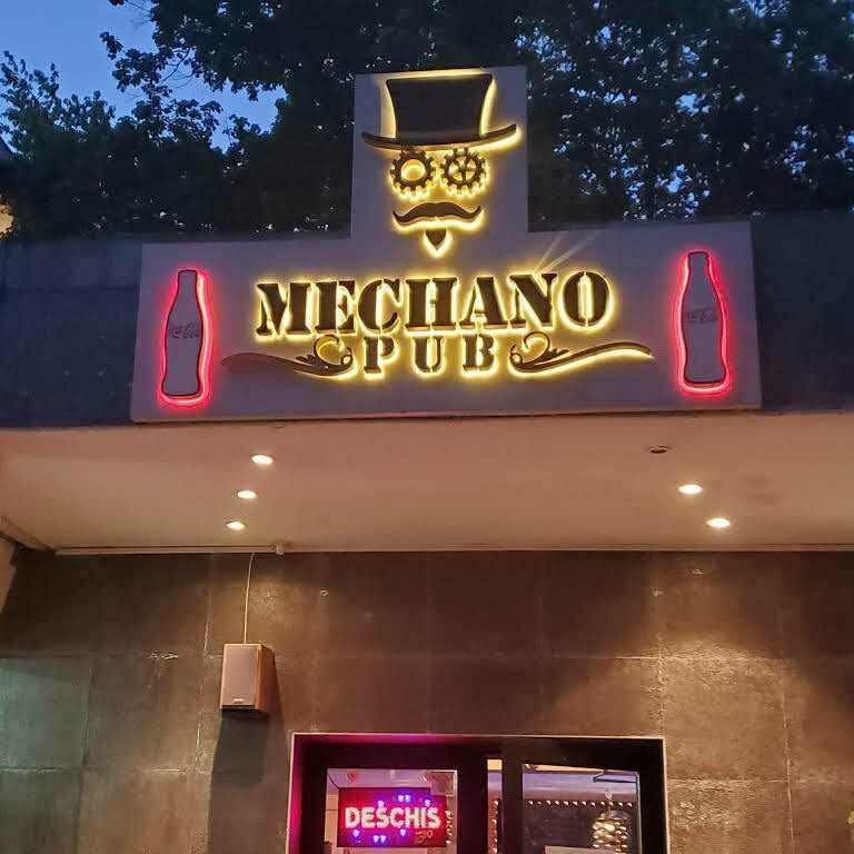 Mechano Pub Bucharest