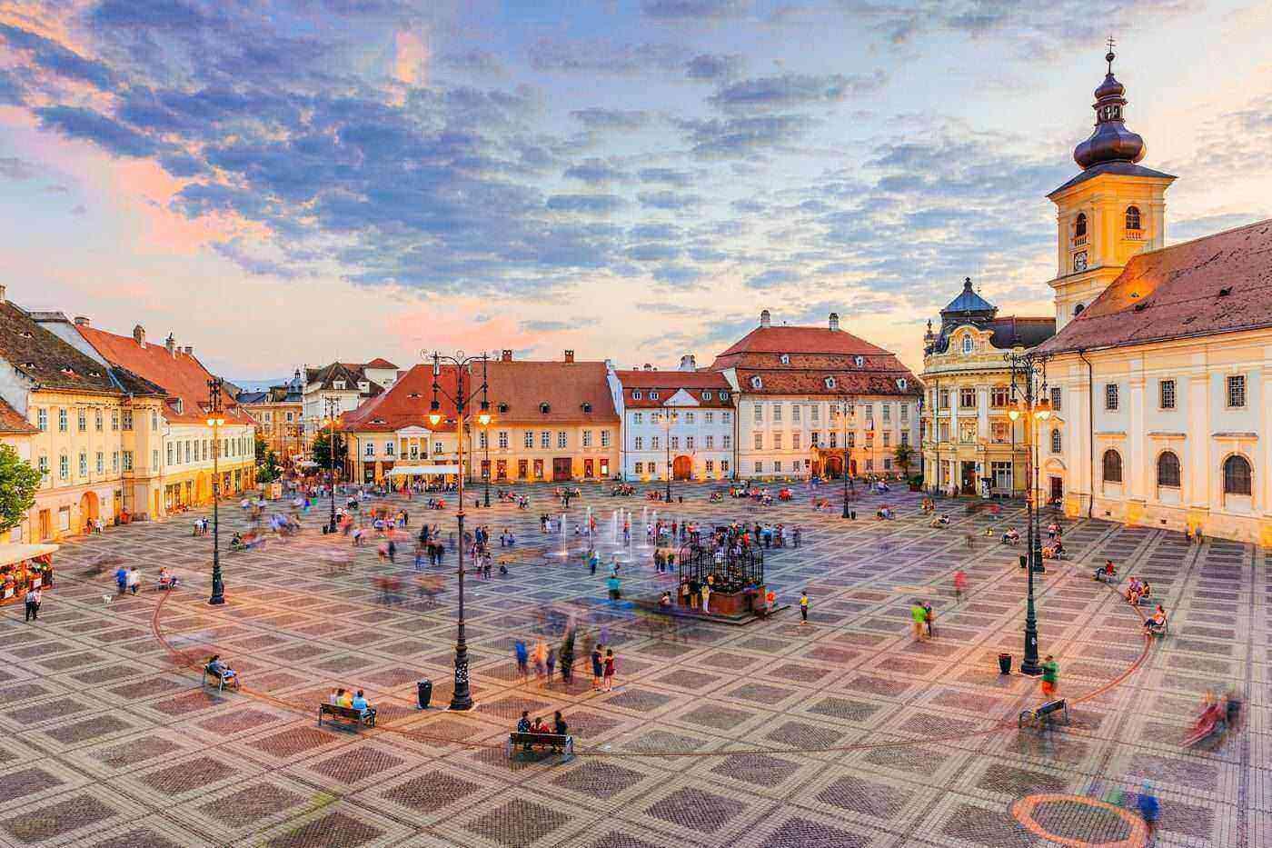 Sibiu, a Medieval Citadel